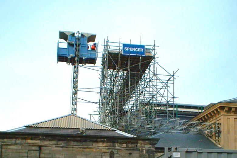 Construction-hoists