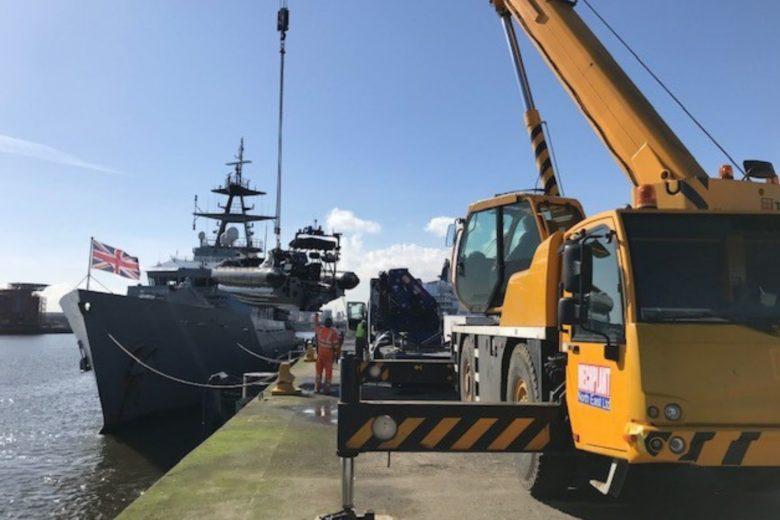 dockland-crane-hire